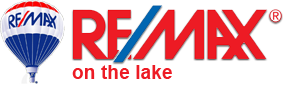 Remax on the lake logo