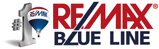 Remax blue line logo