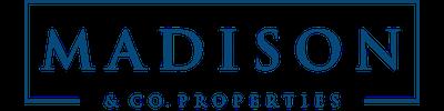 Madison logo trajan blue 400x100